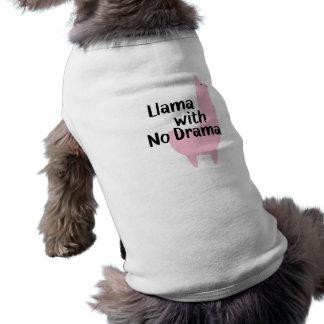 Rosa Lama-HundeT - Shirt