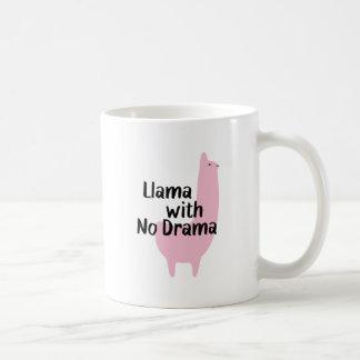 Rosa Lama-Tasse Kaffeetasse