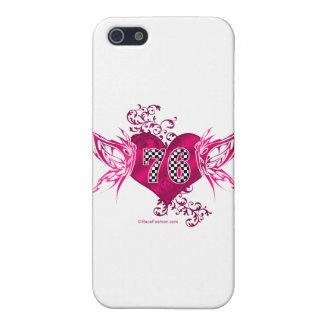 rosa Laufen von 76 Zahl Schutzhülle Fürs iPhone 5