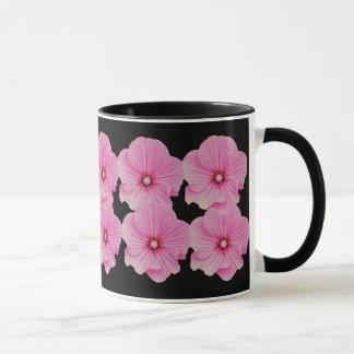 Rosa Lavateras Entwurfs-Tasse Tasse