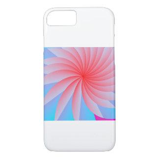 Rosa Leidenschafts-Blume iPhone 7 Fall iPhone 8/7 Hülle
