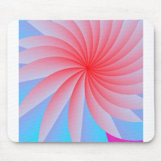 Rosa Leidenschafts-Blume Mousepad