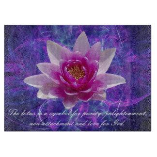 Rosa Lotos-Blume und -bedeutung