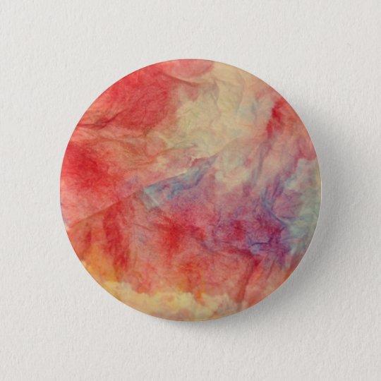 Rosa Marmor Runder Button 5,1 Cm