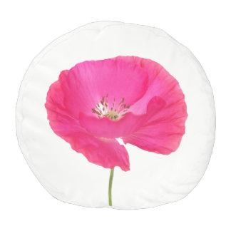 rosa Mohnblume Hocker