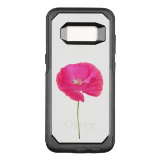 rosa Mohnblume OtterBox Commuter Samsung Galaxy S8 Hülle