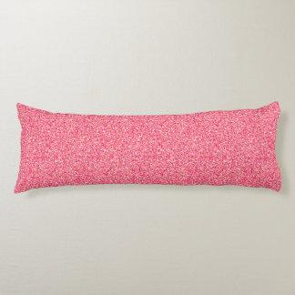 Rosa Moondust Glitter-Muster Seitenschläferkissen