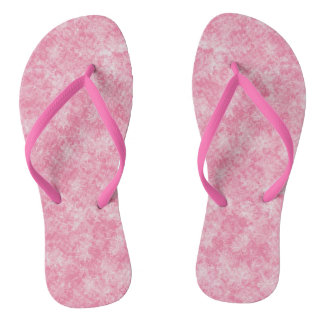Rosa Muster Flip Flops