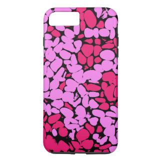 rosa Muster iPhone 8 Plus/7 Plus Hülle