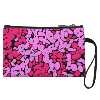 rosa Muster Kleine Clutch