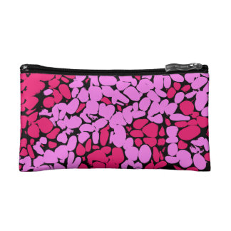 rosa Muster Kosmetiktasche