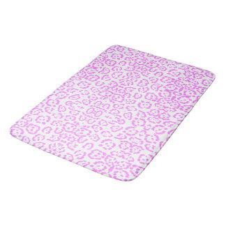 Rosa NeonGepard-Tierdruck Badematte