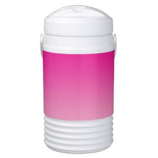 Rosa Ombre Igloo Getränke Kühlhalter