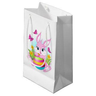 Rosa Osterhasen-kleine Geschenk-Tasche Kleine Geschenktüte