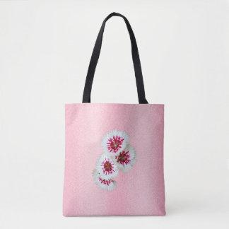 Rosa personalisierte tasche