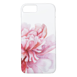Rosa Pfingstrose iPhone 8/7 Hülle