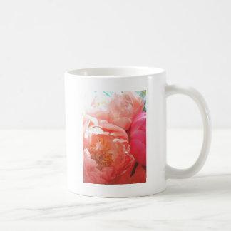 Rosa Pfingstrosen -- hübsch im Rosa! Kaffeetasse