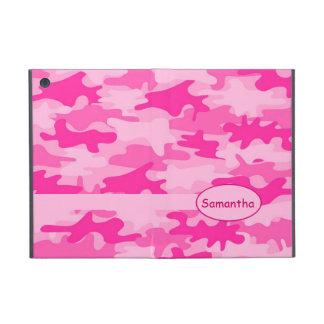 Rosa pinkfarbener Camouflage-Tarnungs-Name Schutzhülle Fürs iPad Mini