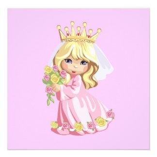 Rosa Prinzessin Individuelle Ankündigungen