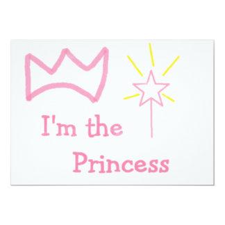 Rosa Prinzessin Einladung