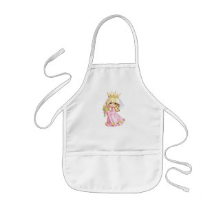 Rosa Prinzessin Kinderschürze
