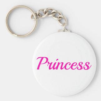 Rosa Prinzessin Schlüsselanhänger