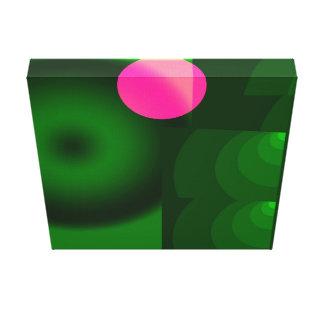 rosa Punkt Leinwanddruck