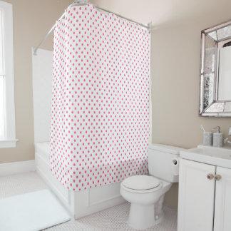Rosa Punkte-Duschvorhang Duschvorhang