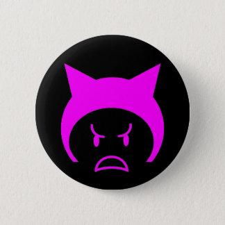 Rosa Pussyhut Runder Button 5,7 Cm
