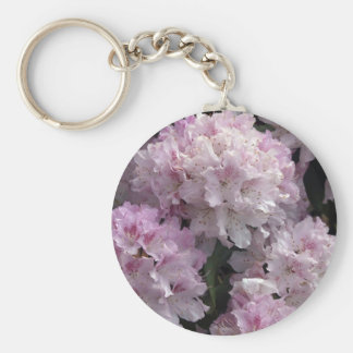 Rosa Rhododendron-Geschenke Schlüsselanhänger