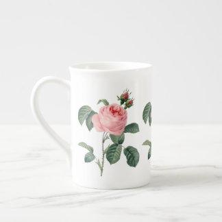 Rosa Rosa Centifolia durch Redoute Prozellantasse