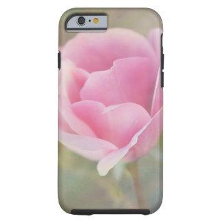 Rosa Rose mit gemalter Beschaffenheit Tough iPhone 6 Hülle