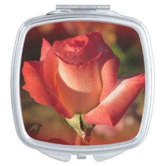 Rosa Rose Schminkspiegel