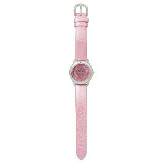Rosa Rose Uhr