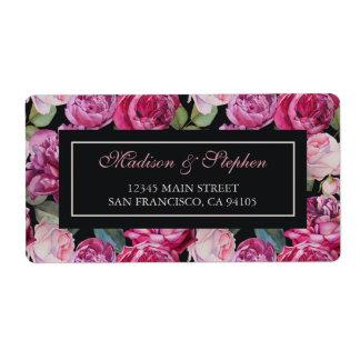 Rosa RoseblumenWatercolor - Hochzeit