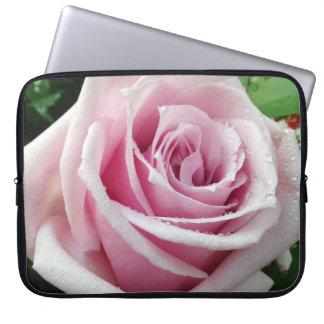 Rosa Rosen-Blumenneopren-Laptop-Hülse Laptop Sleeve
