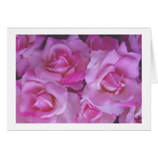 Rosa Rosen Karte