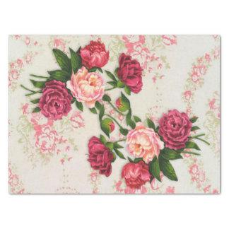 Rosa Rosen-Seidenpapier Seidenpapier