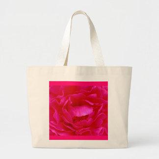 Rosa Rosen-Tasche - kundengerecht
