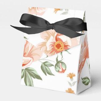Rosa Rosen-Zelt-Art-Bevorzugungs-Kasten Geschenkschachtel