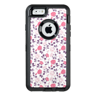 Rosa Rosenmuster Otterbox iphone Fall OtterBox iPhone 6/6s Hülle