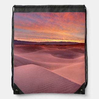 Rosa Sanddünen, Death Valley, CA Turnbeutel