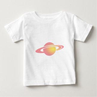 Rosa Saturn Baby T-shirt