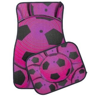 Rosa schwarzer Fußball Automatte