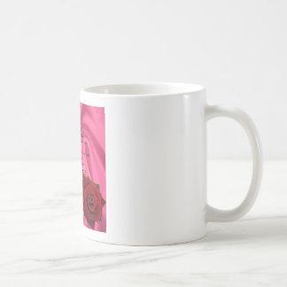 Rosa Seide u. Rose - Muttergedicht Kaffeetasse