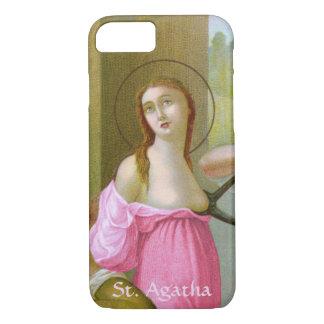 Rosa St. Agatha (M 003) kaum dort iPhone 8/7 Hülle