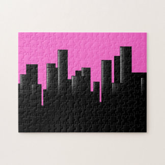 rosa Stadtbild