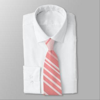 Rosa Streifen Individuelle Krawatte