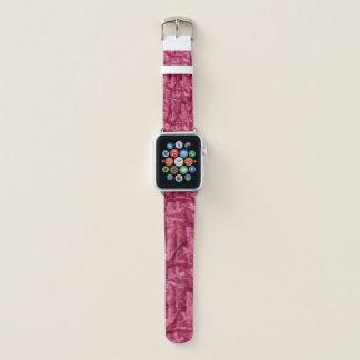 Rosa Tarnungs-Apple-Uhrenarmband Apple Watch Armband