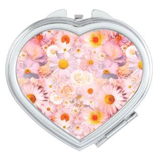 Rosa Taschenspiegel